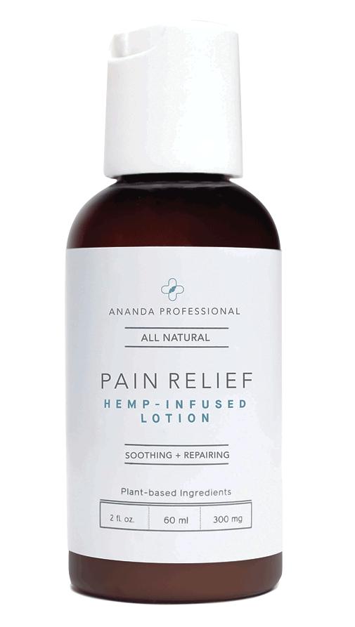 ananda cbd hemp pain relief lotion