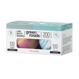 green roads 200mg bath bombs