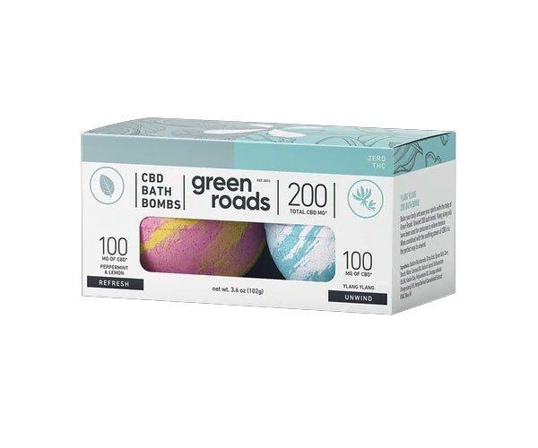 green roads 200mg bath bombs