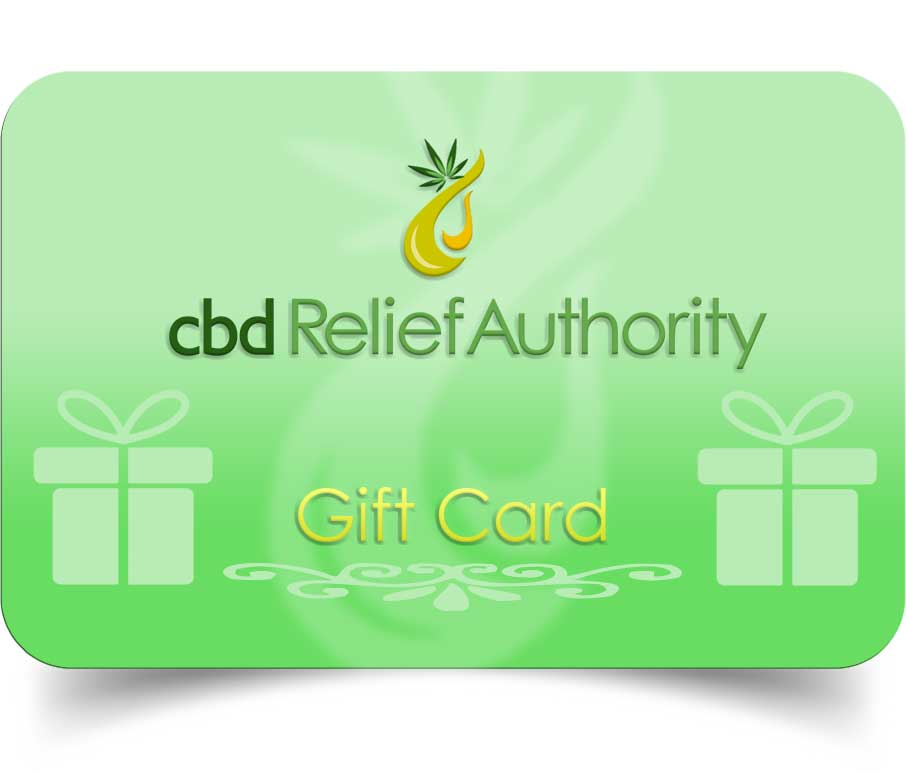 Win $75 cbd gift cards CBD Relief Authority